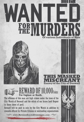 Corvo Wanted