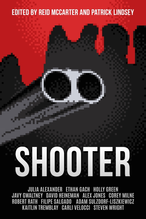 Shooter Book Cover - 3200 x 4800